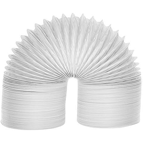 SPARES2GO extra larga universal de condensador de tubo de ventilación manguera para todas las marcas y modelos de ventilación Secadora de ropa (6m / 4