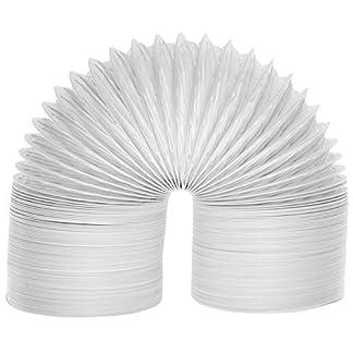 Spares2go Extra Larga Universal de Condensador de Tubo de ventilación Manguera para Todas Las Marcas y Modelos de ventilación Secadora de Ropa (6m / 4″)