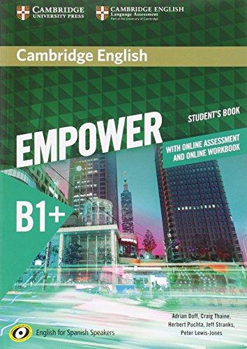Cambridge English Empower for Spanish Speakers B1+