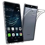 Huawei P9 Hülle Case,Elekin Transparent TPU Case Crystal