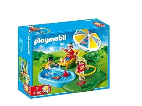 Playmobil - 4140 - Compact set famille et
