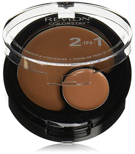 Revlon ColorStay 2-in-1 Foundation & Concealer Make Up Compact-320 True Beige