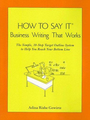 Writing That Works Pdf