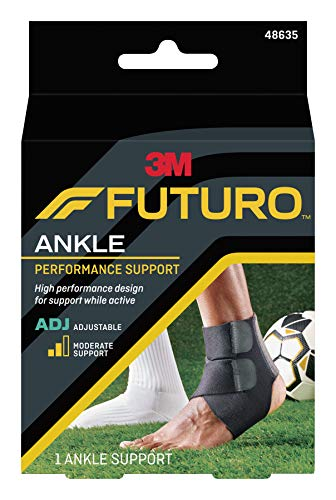 FUTURO Sport Knöchelbandage, feuchtigkeitsregulierend, moderate Unterstützung, Anpassung an die Passform