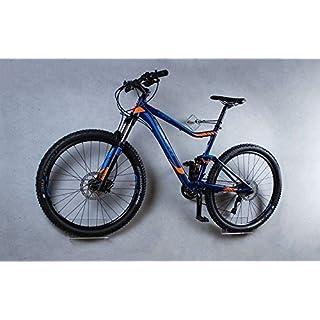 Fahrrad Wandhalterung für Mountainbike von trelixx aus Plexiglas® Acrylglas, platzsparende Fahrradaufbewahrung, Radhalter Wandmontage, 1000fach verkauft
