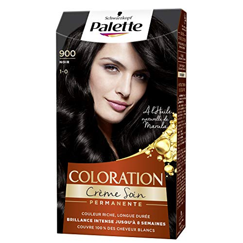 Schwarzkopf - Palette - Coloration Cheveux Permanente - Noir 900