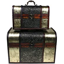Ba les cajas y arcones de almacenaje hogar y - Baules decorativos ...
