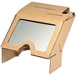 Docooler 3D AR Realidad Aumentada DIY Caja de Papel Auriculares AR para películas en 3D y Juegos Compatibles con Android y Apple Hasta 6 Pulgadas