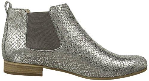 Gabor Cambell, Stivaletti alla caviglia, imbottitura leggera donna Marrone (Marrone effetto serpente con glitter)