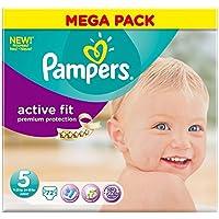 Pampers active Fit Taille 5 Junior 11-25kg (72) - Paquet de 6