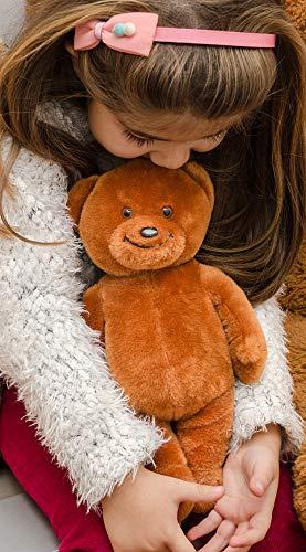 r - braun, 26cm   Knuddelbär, Teddy klein zum Kuscheln & Einschlafen   Stofftier, Kuscheltier für Kleinkinder ab 3 Jahren ()