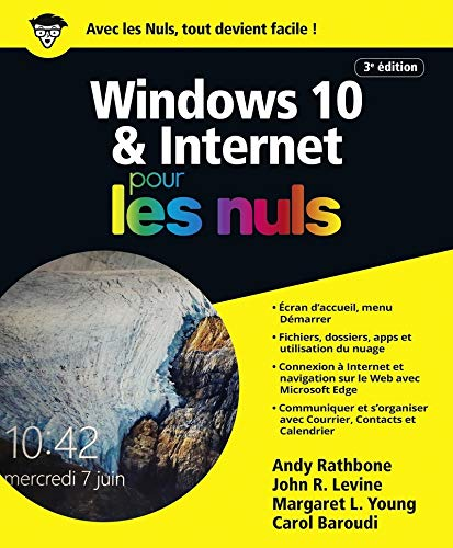 Windows 10 et Internet 4e pour les Nuls, grand format par Andy RATHBONE