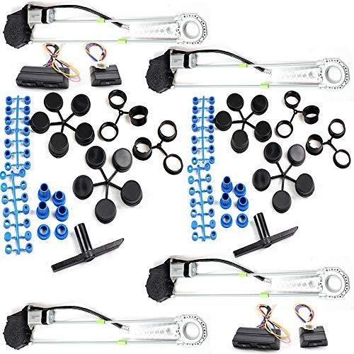 OUBAYLEW - Kit de interruptores de conversión para ventanilla de Coche eléctrico...