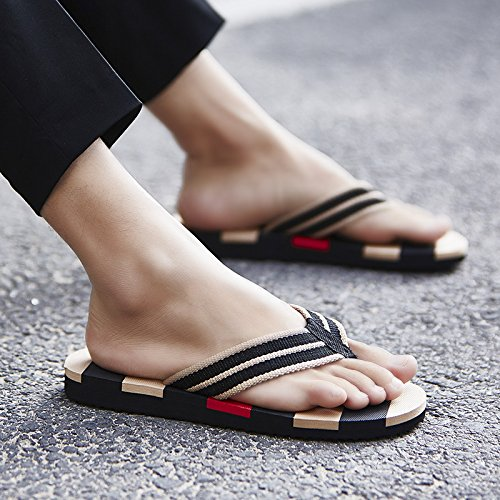 Chaussons, Tongs pour hommes Accueil Salle de bains, Chaussons, chaussures de plage en plein air gules