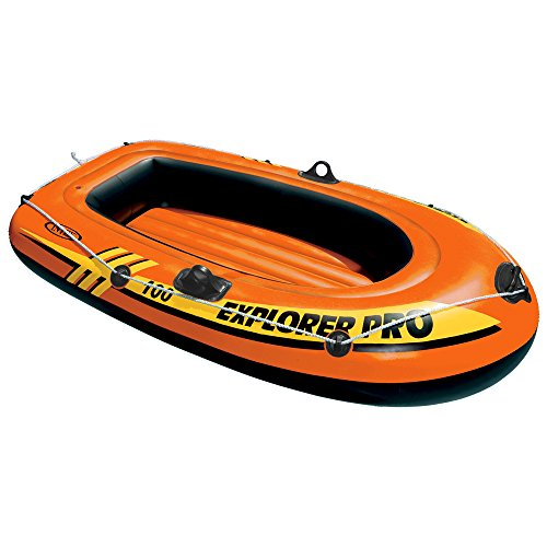 Intex Schlauchboot Explorer Pro 100 Phthalates Free, 160 X 94 X 29 cm, 58355NP