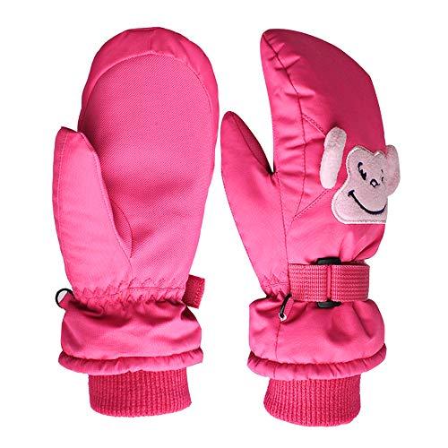 Thinkcase Winterhandschuhe Kinderhandschuhe, Wasserbeständig und Winddicht Kinder Handschuhe Outdoor Sport Skihandschuhe für Jungen Mädchen (5–13 Jahre)