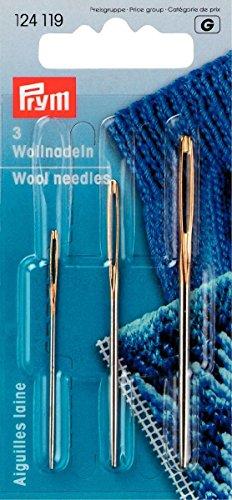 Prym aghi per lana e ricamo smirne, n.1 e 3, confezione da 2