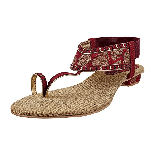 Metro Women Ankle Strap Ethnic & Traditional Footwear image