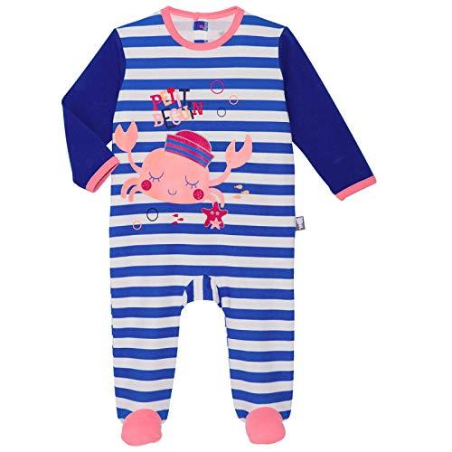 0b9e8bb1a781a Pyjama bébé bleu Crabi - Taille - 12 mois (80 cm)