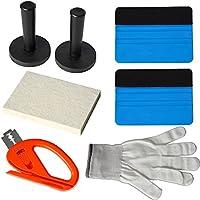 Ehdis® della finestra di automobile del vinile della tinta Wrap Kit strumenti: Felt Lavavetri, Magnet Holder, Snitty Vinyl Cutter, Lana Lavavetri, guanti