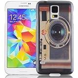 JAMMYLIZARD | Vintage Back Cover Hülle mit Muster für Samsung Galaxy S5 / S5 Neo, M9 FOTOAPPARAT