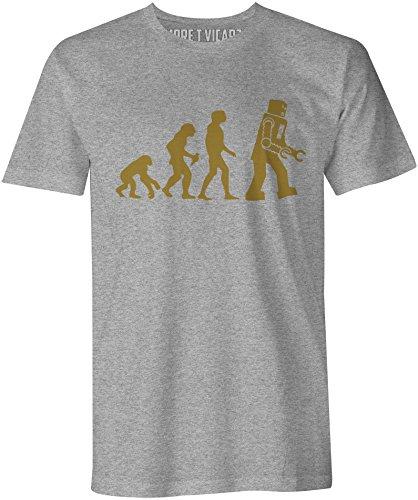 Evolution Of Robots - Herren T Shirt