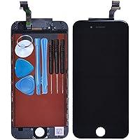 LL TRADER Nuovo Per iPhone 6 Nero Schermo Parti di ricambio Display LCD Touch Screen lente in vetro kit di trasformazione completo di ricambio + utensili inclusi