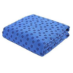 FLURYSAR Yogadecke Yoga Towel mit Rutschfester Oberfläche