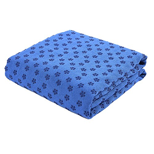 FLURYSAR Fitness Yogadecke Yoga Towel mit Rutschfester Oberfläche (Nopen)