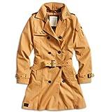 Surplus Abrigo de manga larga para mujer, talla 36, color marrón (camel braun)