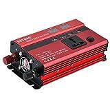 Baoblaze 600W Wechselrichter DC 12V zu AC 220V Konverter mit LED Display Konverter