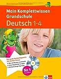 Die kleinen Lerndrachen: Mein Komplettwissen Grundschule, Deutsch 1.-4. Klasse: Das komplette Grundschul-Wissen mit CD-ROM