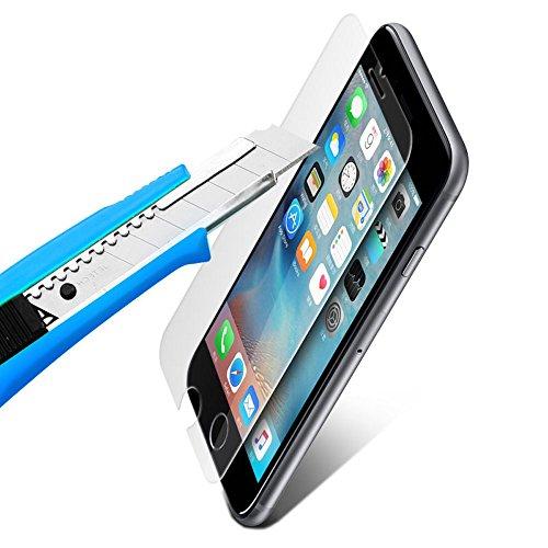 XeloTech iPhone 8 / iPhone 7 Premium Panzerglas Folie mit Schablone für hohe Passgenauigkeit | Unterstützt 3D Touch| Sehr hohe Qualität . - 5
