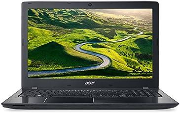Acer E5-575G 15.6-inch Laptop (7th Gen Core i5-7200U/4GB/1TB/Linux/2GB Graphics), Black