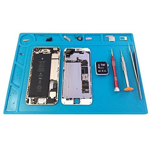 Buyyart New ESD Heat Insulation Silicone Pad Desk Mat Maintenance Platform smd Soldering