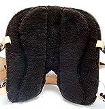 Baumloser Westernsattel KANSAS Eco aus Büffelleder Neu, Größe:16 Zoll - 5