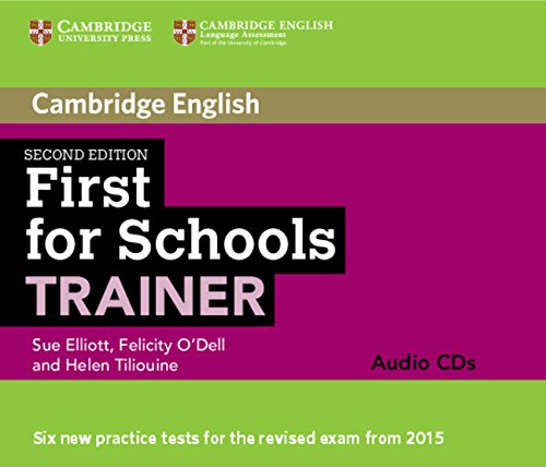 First for Schools Trainer Audio CDs (3) Second Edition (Cambridge English)