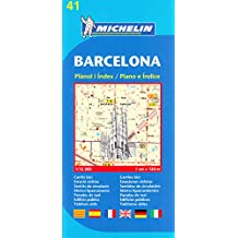 Plan Michelin Barcelone-