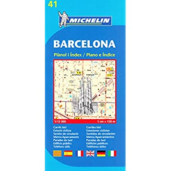 Plan Michelin Barcelone-