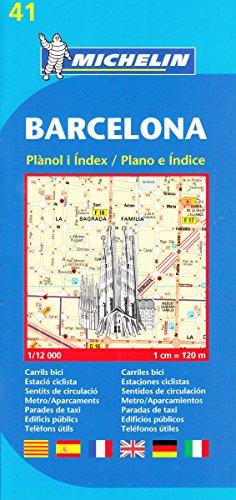 Plano Plegable Barcelona (Planos Michelin)