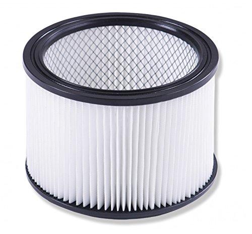 Masko® Industriestaubsauger Staubsauger Nass Trocken Sauger Edelstahl max. 1800W, Farbe:Hepa Filter