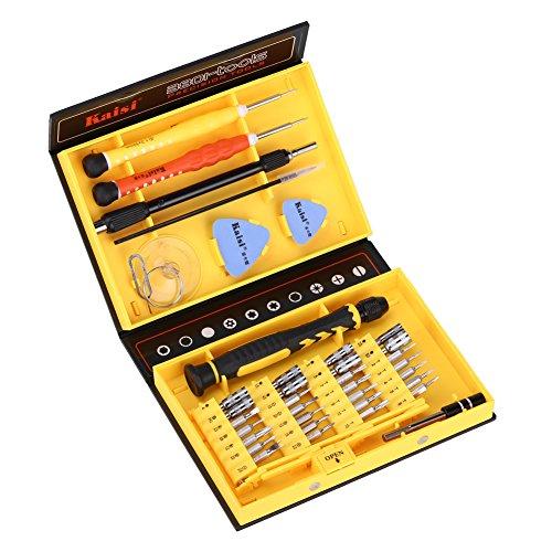 Preisvergleich Produktbild GHB 38 in 1 Schraubendreher Set Mini Reparatur Werkzeugset magnetische schraubenzieher für Handy Laptop PC iPhone Tablet Hersteller: Earthly Paradise