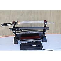 Handgeschmiedetes-Gefaltetes Samurai Schwert Wakizashi Miyamoto Musashi