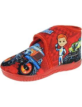 Alcalde. Zapatillas Invierno Abotinadas co Velcro de los Monster Truck para Infantil Niños - Modelo 15200