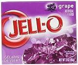 Jell - O Gelatine Dessert Grape (Traube) 85