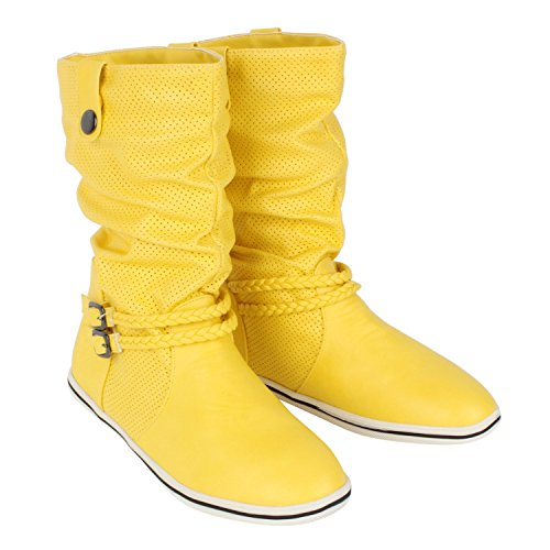 Japado - Stivali Donna Giallo (giallo)