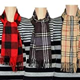 FABLOOK Printed Check style gents muffler/scarf (assorted)
