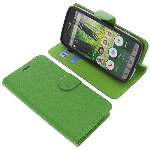 foto-kontor Tasche für Doro Liberto 825 Book Style grün Schutz Hülle Buch