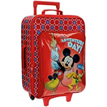 Disney Adventure Day Equipaje Infantil, 33.12 Litros, Color Rojo