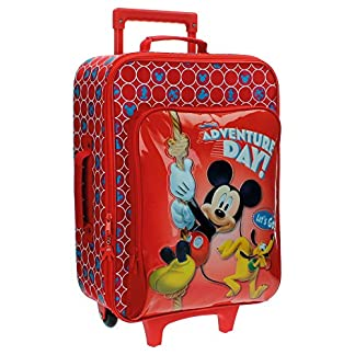Disney Adventure Day Equipaje Infantil, 33.12 Litros, Color Rojo